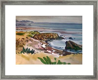 California Coast Framed Print by Donald Maier