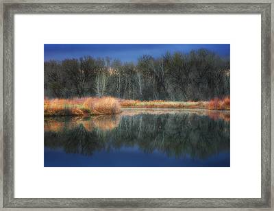 Calm Before The Storm Framed Print by Darren  White