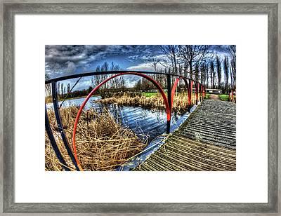 Cambell Park Milton Keynes Framed Print by KonTrasts