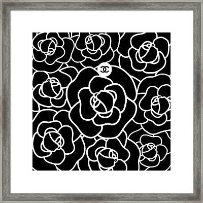 Camellia Cc Framed Print