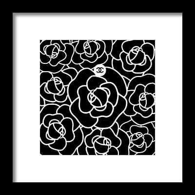 Camellias Framed Prints