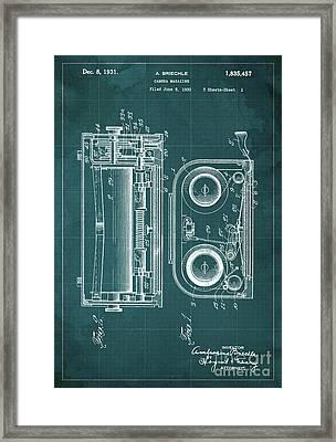 Camera Magazine Patent Year 1930 Framed Print