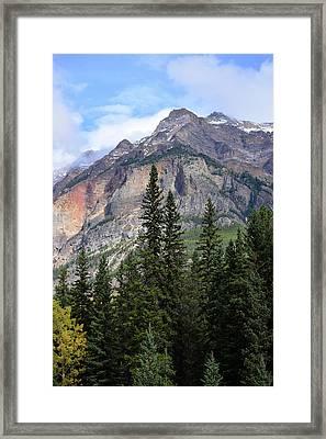 Canadian Rockies No. 2-1 Framed Print