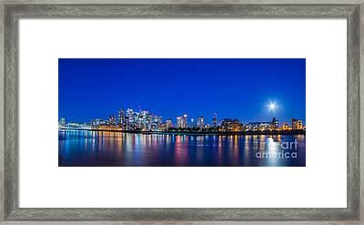 Canary Wharf 3 Framed Print