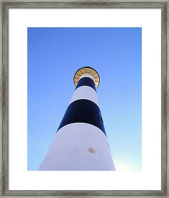 Canaveral Light Framed Print by Allan  Hughes