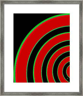 Candid Color 1 Framed Print by Will Borden