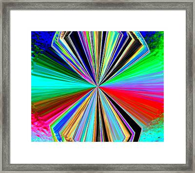 Candid Color 8 Framed Print by Will Borden
