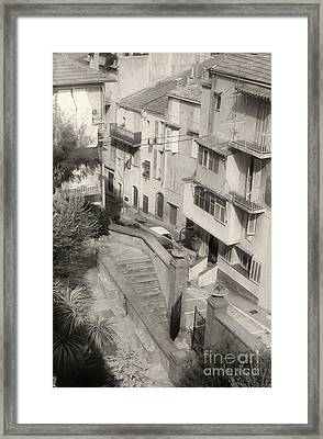 Cannes Framed Print by Andrea Simon