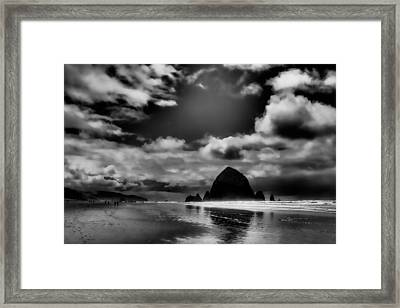 Cannon Beach Framed Print by David Patterson