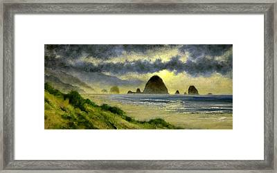 Cannon Beach Framed Print
