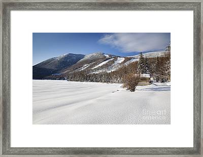 Cannon Mountain - White Mountains New Hampshire  Framed Print