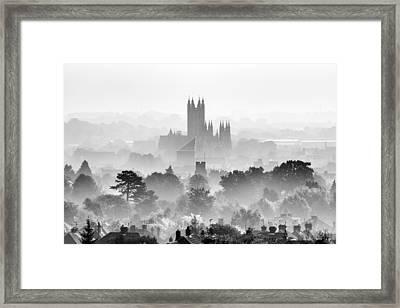 Canterbury Framed Print by Ian Hufton