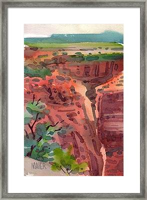 Canyon De Chelly Framed Print by Donald Maier