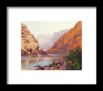 Zion Canyon Framed Prints