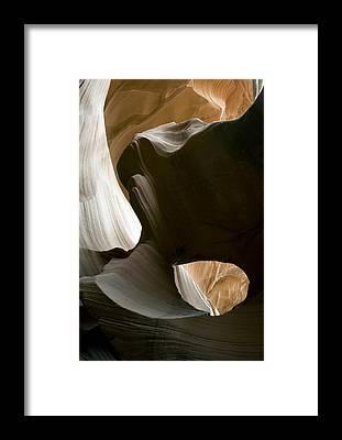 Antelope Canyon Framed Prints