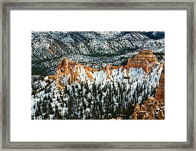 Canyon View Framed Print by Christopher Holmes