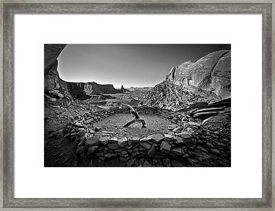 Canyonlands Kiva Framed Print