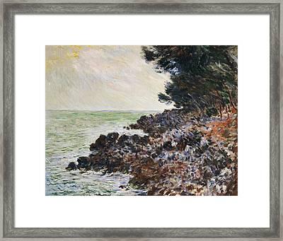 Cap Martin Framed Print by Claude Monet