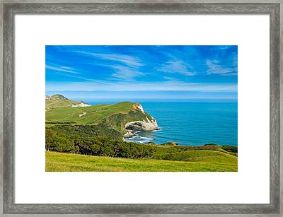 Cape Farewell Able Tasman National Park Framed Print
