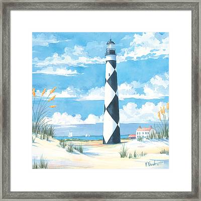 Cape Lookout Framed Print by Paul Brent