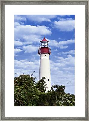 Cape May Lighthouse Framed Print by John Greim