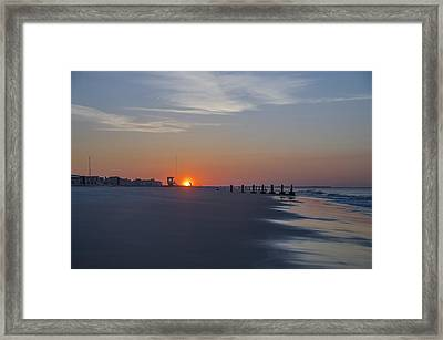 Cape May Morning Framed Print