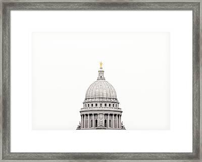 Capitol Cloud Framed Print by Todd Klassy
