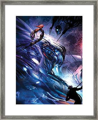 Captive Framed Print by Alex Ruiz