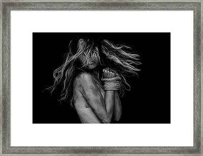 Captive Framed Print by Engin Akyurt