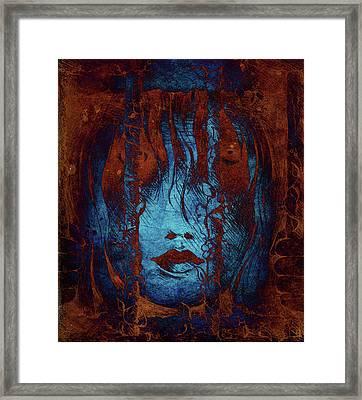 Captive Framed Print by Rachel Christine Nowicki