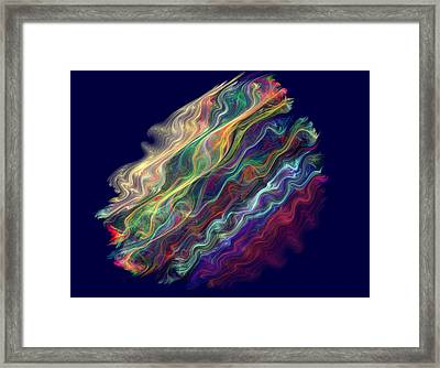 Captive Waves Framed Print
