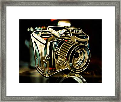 Capture Camera Collection Framed Print by Marvin Blaine