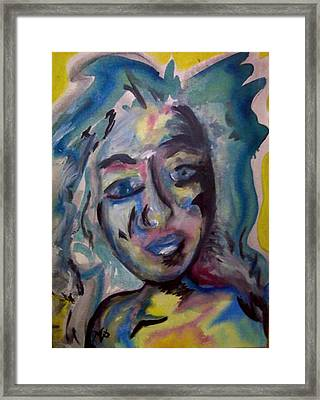 Cara Framed Print by Misty VanPool