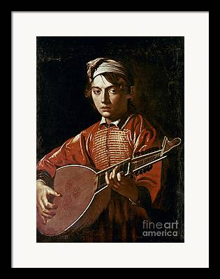 Lutenist Photographs Framed Prints