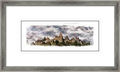 Carcassonne Framed Print