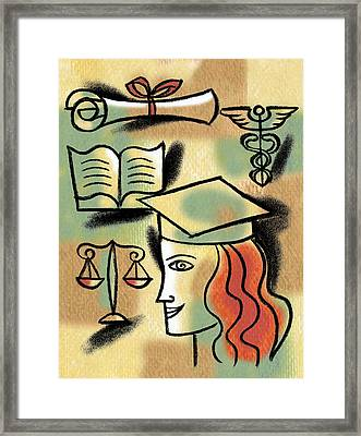 Career Path Framed Print