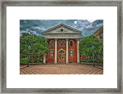 Carnegie Public Library - Bryan Texas Framed Print by Mountain Dreams