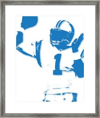 Carolina Panthers Cam Newton Framed Print