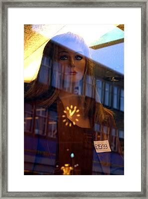 Caroline Framed Print by Jez C Self