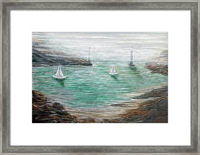 Carquinez Strait Framed Print by Robert Hoffman
