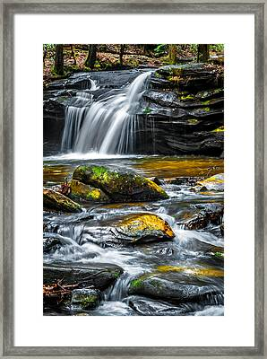 Carreck Creek Falls Framed Print