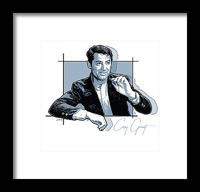 Cary Grant Framed Prints