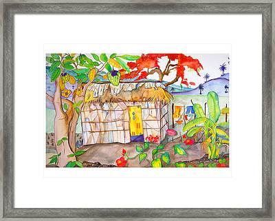 Casa De Palma Framed Print by Brenda Tucker