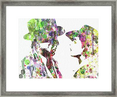 Casablanca 2 Framed Print by Naxart Studio