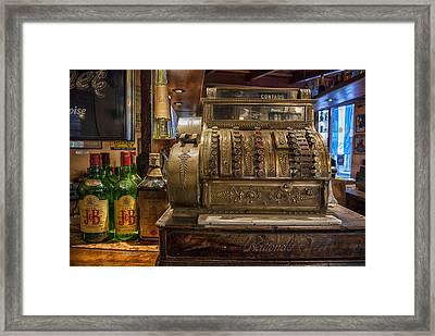 Cash  Framed Print by Hans Wolfgang Muller Leg