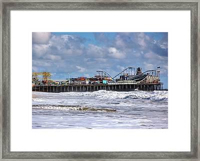 Casino Pier, Seaside Heights Nj Framed Print