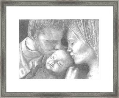 Cassiday Family 1  Framed Print by Rhonda  Rodericks