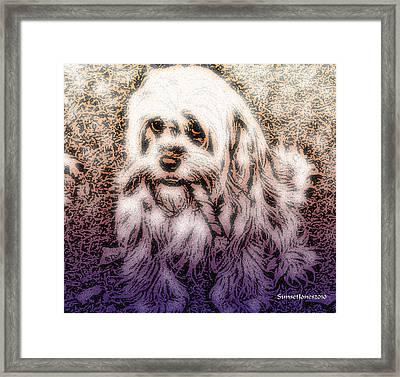 Cassie Girl Framed Print by Robert Orinski