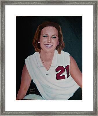 Cassie Framed Print by Stan Hamilton