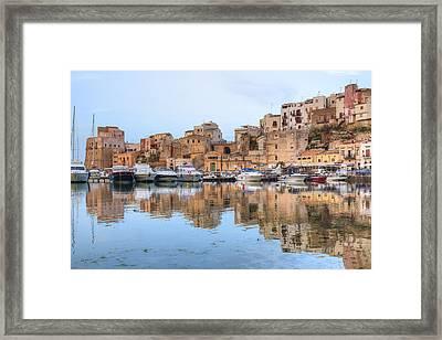 Castellammare Del Golfo - Sicily Framed Print by Joana Kruse